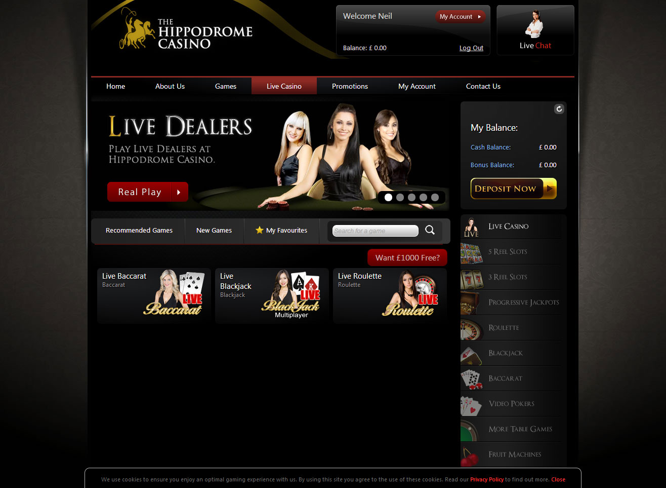 Best Online Casinos for