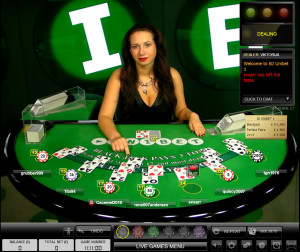Unibet Live Blackjack - Evolution