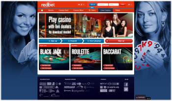 Redbet Live Blackjack