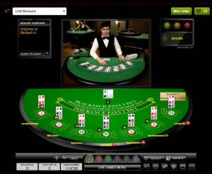 Comeon Live Blackjack - Mixed Mode