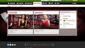 Unibet Live Blackjack Casino