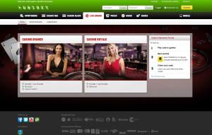 Unibet Live Blackjack Casino