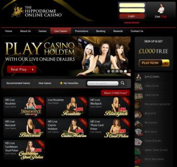 Hippodrome Live Casino