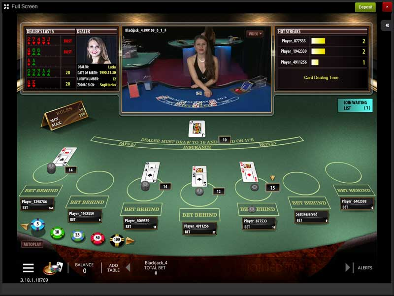 best online blackjack casino review