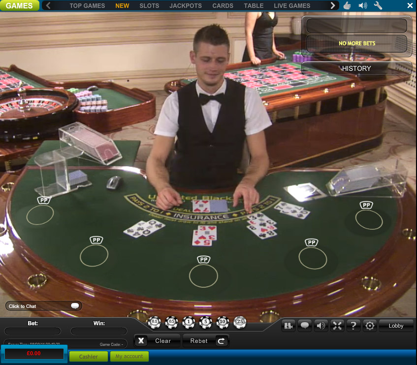William Hill Blackjack